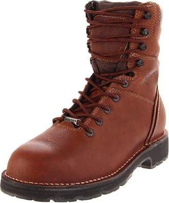 Danner Mens Workman 16005 Work Boot,Brown,14 D US