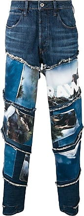 G-Star Raw Research landscapes print jeans - Azul