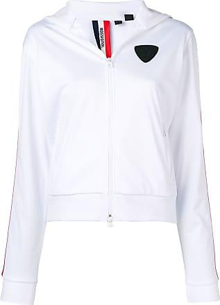 Rossignol roll neck track jacket - White