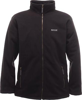 Regatta Mens Alfred Quilted Fleece Jacket - Black (RMA074-800 16/17) (XXX-Large)
