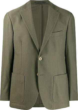 Eleventy single-breasted fitted blazer - Green