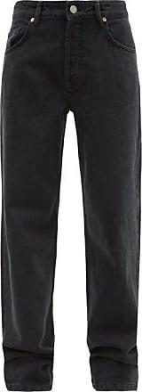 Raey Opa Baggy Boyfriend Jeans - Womens - Black
