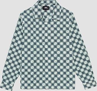 Stüssy Dice Checker Shirt Indigo Blue