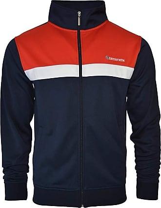 Lambretta Mens Tracksuit Top Jacket Zip Up Casual Jacket Coat 2XL Blue