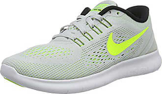 quality design e8a21 82537 Nike Free Run 831509, Scarpe Da Corsa Donna, Grigio (Pure Platinum Volt