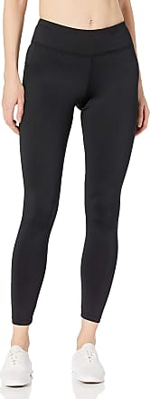 Jockey Womens Reflective Ankle Legging, Black Melange, Small