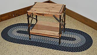 A & L Furniture A & L Furniture 2070 Hickory End Table, Rustic Hickory