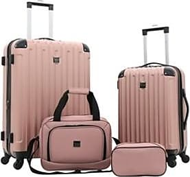UGG Travelers Club Luggage Midtown 4 Piece Luggage Set (Rose Gold)