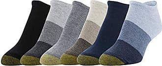 Gold Toe Womens Jersery No Show Socks, 6 Pairs, Denim Midnight/Oatmeal Grey Heather/Black, Shoe Size: 6-9