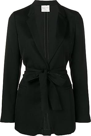 Forte_Forte tie waist blazer - Black