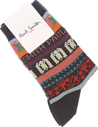 Paul Smith Hommes Chaussettes Made in Italy Sk915 Rouge