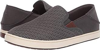 Olukai Kahu Aho (Dark Shadow/Off-White) Mens Shoes