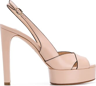 Casadei colour block sandals - PINK