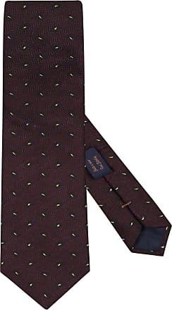 Altea Übergröße : Altea, Krawatte im Seidenmix in Braun für Herren