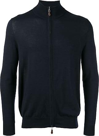 N.Peal roll neck jacket - Blue