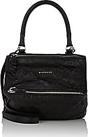 Givenchy Womens Pandora Pepe Small Leather Messenger Bag - Black 6b057d1c0ccc0
