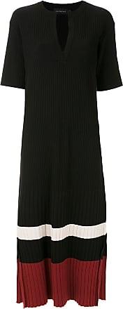 Alcaçuz Vestido Piella de tricô - Preto