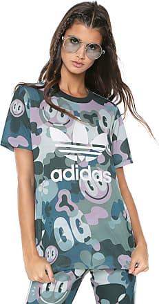 36c5290980b17 adidas Originals Camiseta adidas Originals Trefoil Tee Verde