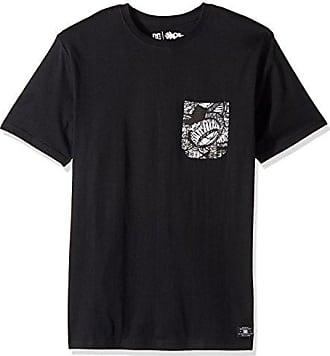 DC Mens Darbotz Pocket Shirt, Black Large