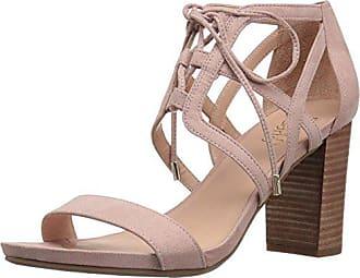Franco Sarto Womens Jewel Heeled Sandal, Rose, 5.5 Medium US