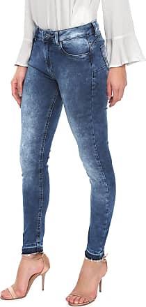 Lez a Lez Calça Jeans Lez a Lez Skinny Acid Azul