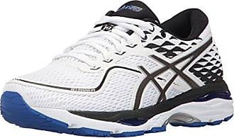low priced e3d42 0baf4 Asics Womens Gel-Cumulus 19 Running-Shoes, White Black Blue Purple