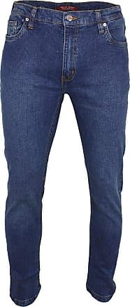 Relco Mens Relco London Slim Fit Stretch Jean - Blue - W34-L32