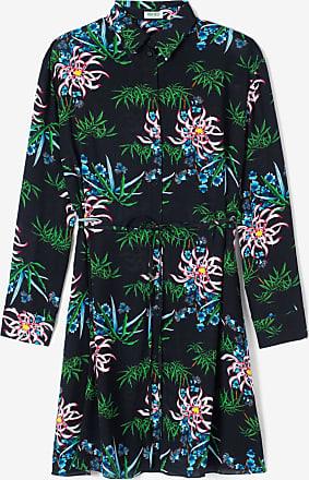 Kenzo Robe chemise Sea Lily