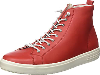 Remonte Womens D1470 Hi-Top Trainers, Red (Flamme 34), 7.5 UK