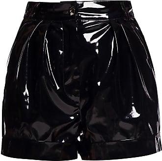 Philipp Plein Varnished Shorts Womens Black