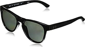 b4820fbdb6b Under Armour Round Sunglasses UA SCHEME STORM GLOSS BLACK GRAY POLAR LENS M