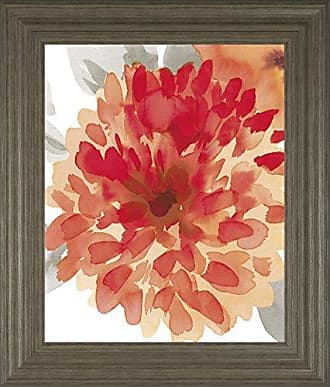 Classy Art Peach Flower I by Sandra Jacobs