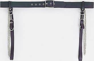 Asos Curve ASOS DESIGN Curve reflective harness and chain waist belt-Multi