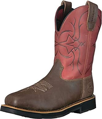 Irish Setter Work Womens Marshall 9 Pull On Work Boot Brown//Teal Accent 6 D US