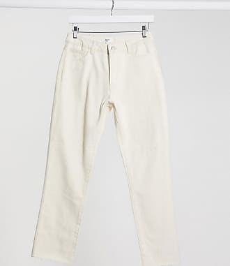 Object straight leg jeans co-ord in ecru-Cream