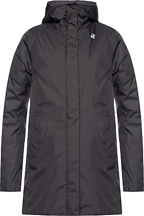 K-Way Branded Down Jacket Womens Black