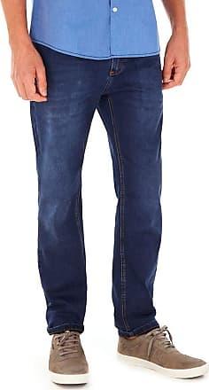 SideWalk Calça Jeans 5 Bolsos - Azul Jeans - Tamanho 40