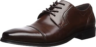 Kenneth Cole Reaction Mens Swaizee Lace Up B Oxford, Brown, 10 UK