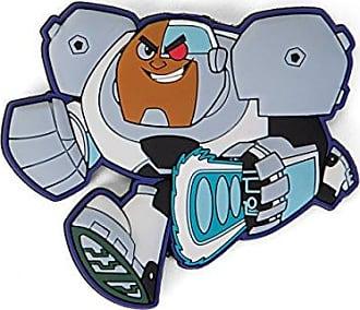 DC 45633 Teen Titans Go Cyborg Soft Touch PVC magnet, 3, multi color