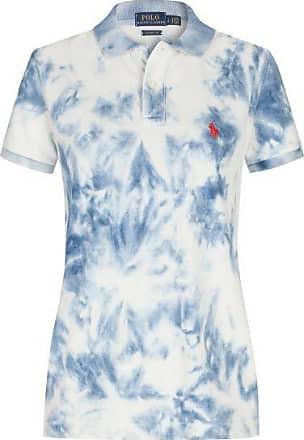 Polo Ralph Lauren Polo-Shirt Custom Fit (Blau) - Damen