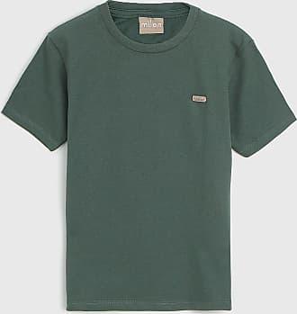 Milon Camiseta Milon Infantil Logo Verde