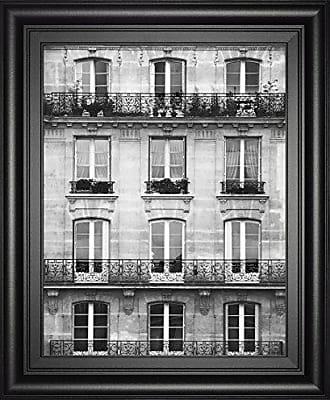 Classy Art Across The Street Il by Laura Marshall Framed Print Wall Art