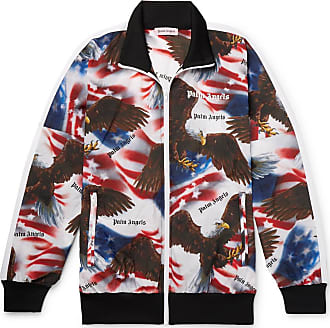 Palm Angels Printed Shell Track Jacket - Multi