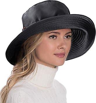 34b45b27b4a Eric Javits Luxury Fashion Designer Womens Headwear Hat - Kaya - Black