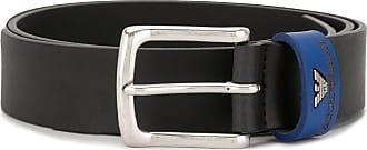 Emporio Armani Tongue buckled belt - Black