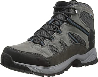 Hi-Tec Bandera Lite WP Shoes Men Charcoal/Grey/Goblin Blue Shoe Size UK 13 | EU 47 2019