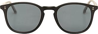 Garrett Leight Garrett leight Kinney 49 sunglasses MATTE BLACK/SEMI-FLA U