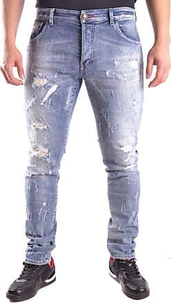 Philipp Plein Fashion Man S17CMDT0079PDE012N29WA Blue Elastane Jeans | Spring Summer 20