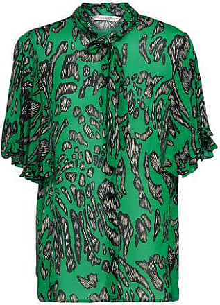 Summum Dames Blouses in Viscose (Groen)