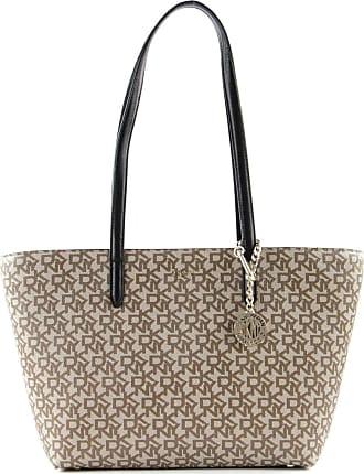 DKNY Bryant Tote bag beige/black